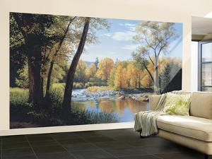 When Summer Turns To Autumn Large Huge Mural Art Print Poster