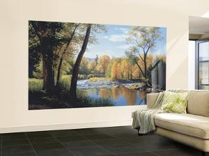 When Summer Turns To Autumn Small Huge Mural Art Print Poster