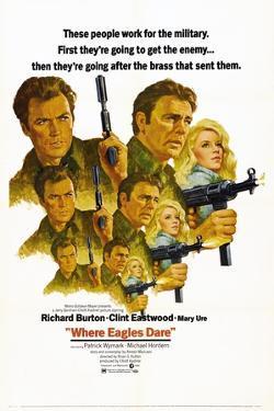 Where Eagles Dare, 1968