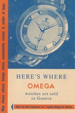 Where Omega Watches are Sold