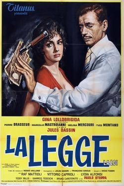 Where the Hot Wind Blows!, 1959 (La Legge)