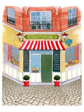 Whimsical French Corner Bakery