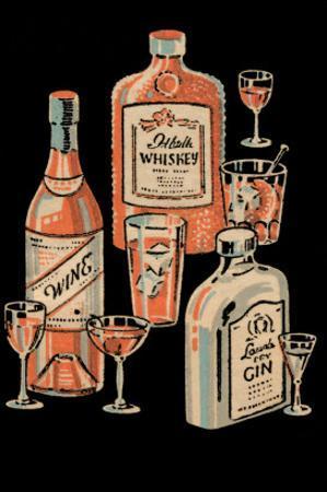 Whiskey, Wine & Gin