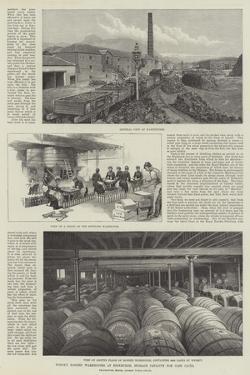 Whisky Bonded Warehouses at Edinburgh, Storage Capacity for 15,000 Casks