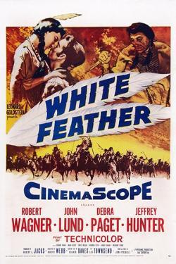 White Feather, Top from Left: Debra Paget, Robert Wagner, Jeffrey Hunter, 1955