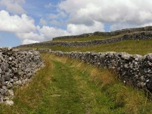 Footpath on the Dales Way, Grassington, Yorkshire Dales National Park, North Yorkshire, England, UK by White Gary