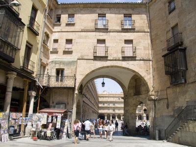 Plaza Mayor, Salamanca, Castilla Y Leon, Spain, Europe