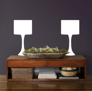 White Modern Lamps