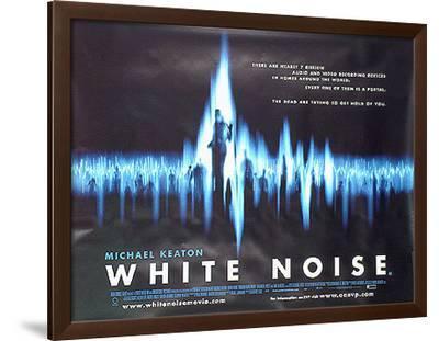 White Noise--Framed Original Poster