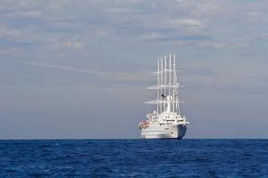 White Ship On The Ocean, 2018
