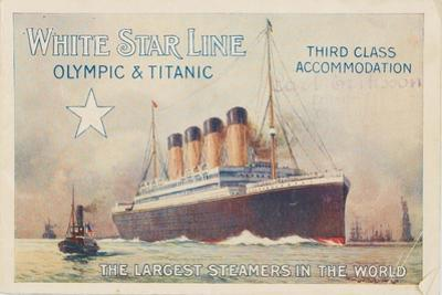 White Star Line. Titanic and Olympic, C. 1910