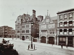 Whitechapel Fire Station, Commercial Road, Stepney, London, 1902
