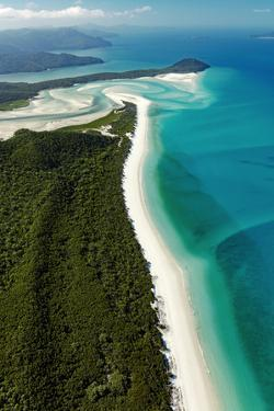 Whitehaven Beach, Australia, Aerial Photograph
