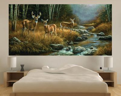 Whitetail Deer (Indoor/Outdoor) Vinyl Wall Mural
