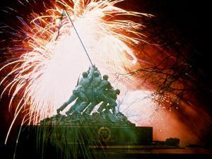 Monument to the Battle of Iwo Jima by Whitney & Irma Sevin