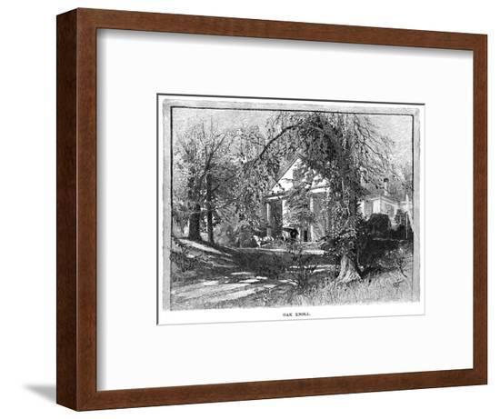 Whittier Home--Framed Giclee Print