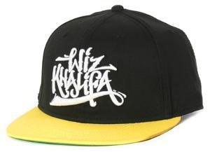 Whiz Khalifa- Scrpited Logo Snapback