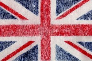 British Flag by Whoartnow