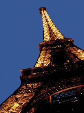 Eiffel Tower in Paris by Whoartnow