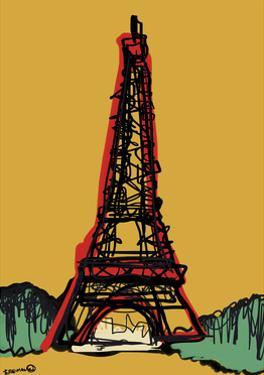 Eiffel Towerparis France by Whoartnow