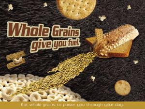 Whole Grains Give You Fuel