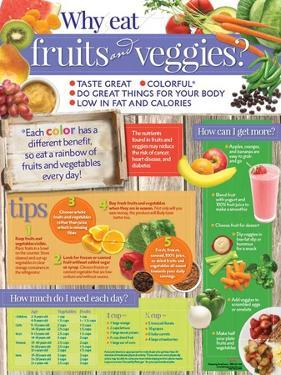Why Eat Fruits and Veggies? Poster