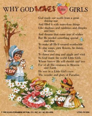 Why God loves Little Girls