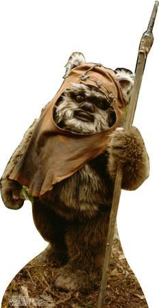 Wicket Wystri Warrick (Ewock) - Star Wars Lifesize Standup