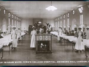 Wigram Ward of King's College Hospital, Denmark Hill, S.E. London