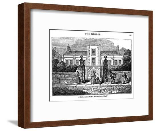 Wilberforce Birthplace--Framed Giclee Print