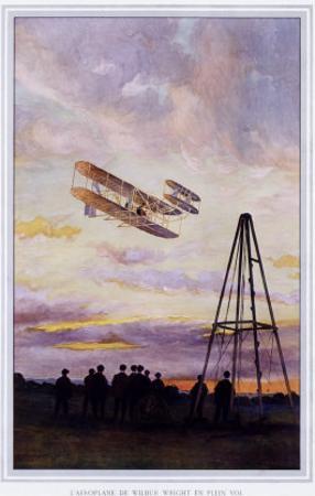 Wilbur Wright Aviation Biplane