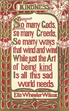 Wilcox Exhortation to Kindness