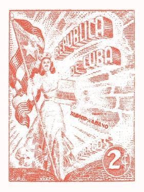 Cuba Stamp XXI Bright by Wild Apple