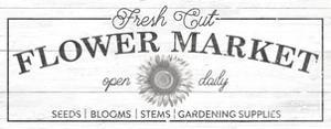 Flower Market I by Wild Apple