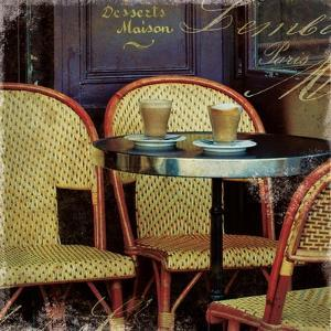 Parisian Cafe I by Wild Apple Photography