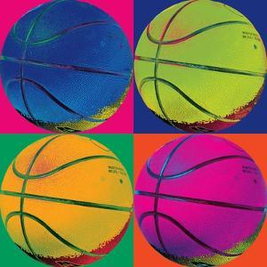 Ball Four-Basketball by Wild Apple Portfolio