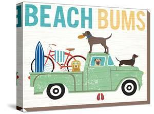 Beach Bums Truck I by Wild Apple Portfolio