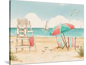 Beach Time I Crop by Wild Apple Portfolio
