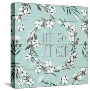 Blessed Vii Mint Let Go Let God by Wild Apple Portfolio