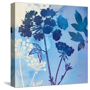 Blue Sky Garden Iii by Wild Apple Portfolio