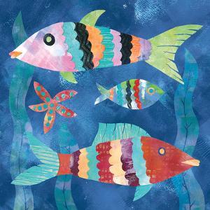 Boho Reef Fish I by Wild Apple Portfolio