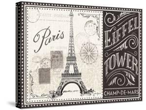 Bonjour Paris Ii by Wild Apple Portfolio
