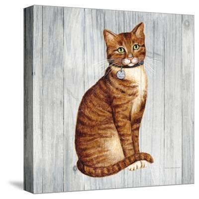 Country Kitty IV on Wood by Wild Apple Portfolio