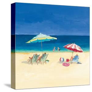 Day At The Beach Sq Iv by Wild Apple Portfolio