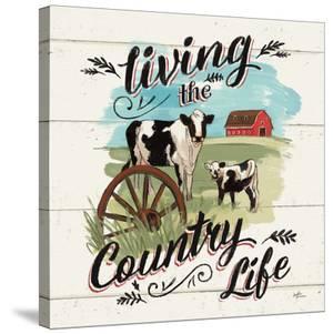 Farm Life Ii Country by Wild Apple Portfolio