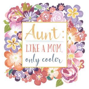 Flourish Aunt Inspiration I by Wild Apple Portfolio