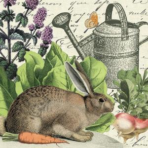 Garden Rabbit I by Wild Apple Portfolio