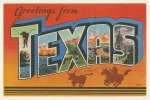 Greetings from Texas v2 by Wild Apple Portfolio