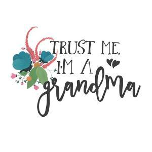 Harriet Floral Grandma Inspiration I by Wild Apple Portfolio