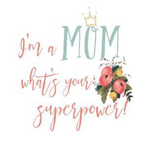 Harriet Floral Mom Inspiration II by Wild Apple Portfolio